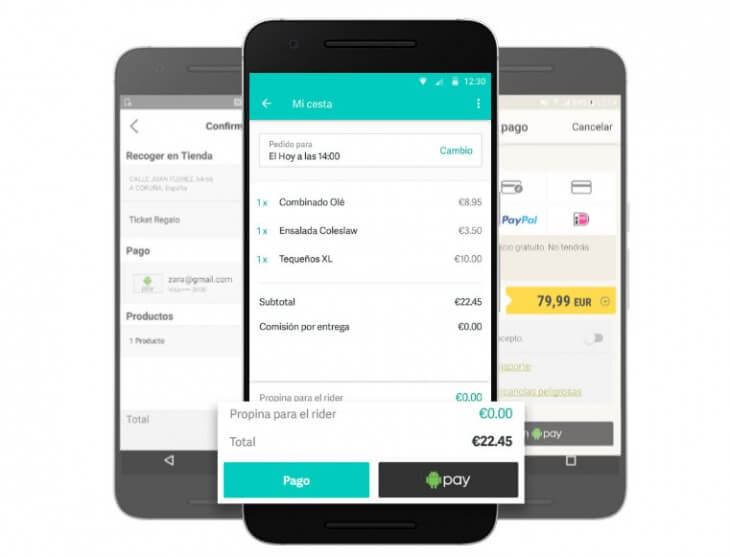 Android Pay Ya Disponible En España